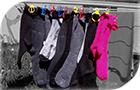 Anop - Spona na ponožky na sušáku